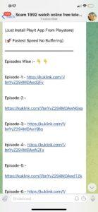 Scam 1992 Watch Online Free Telegram